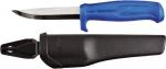Нож строительный нержавеющий в чехле (Швеция), FIT, 10703