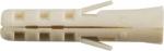 Дюбель нейлоновый NAT 12 х 60 (фасовка 4 шт.), FIT, 24012-3