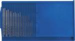 """Сверла по металлу HSS полированные """"микро"""" набор 20 шт.(0,3-1,6 мм.), FIT, 36360"""