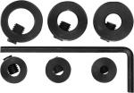 Стопперы для сверел, набор 6 шт., FIT, 36433