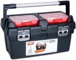 Ящик для инструментов, поддон + 2 съемных органайзера в крышке №500, TAYG, 165009
