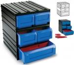 Модуль составной, 1 и 4 выдвижных лотка со съемными перегородками 300/5, TAYG, 352003