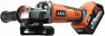Аккумуляторная угловая шлифмашинаф 18 В, 125 мм, BEWS18-125Х LI-402C, AEG, 443460