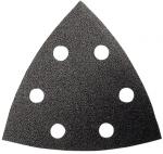 Шлифовальный лист BLACK STONE для резаков GOP/PMF 10 шт, 93 мм, BOSCH, 2608607543