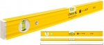 Уровень тип 80А, 120 см, 1 вертикальный, 1 горизонтальный, точность 0,5 мм/м, STABILA, 16053