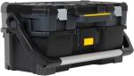 """Открытый профессиональный пластмассовый ящик для инструмента со съемным кейсом 24"""", STANLEY, 1-97-506"""