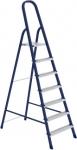 Стремянка, 7 ступеней, стальная, оцинкованные ступени, СИБРТЕХ, 97847
